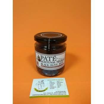 Paté Aceituna Negra 220g