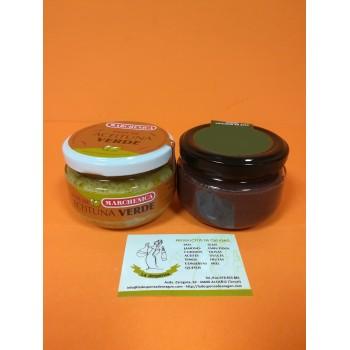 Pack Paté de Olivas Verdes y Aceitunas Negras