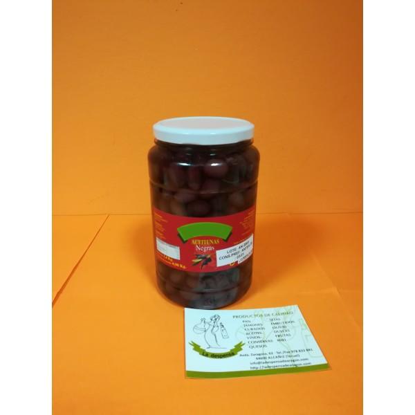 Aceituna Negra Aragón 1Kg