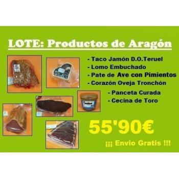 LOTE Productos Aragón
