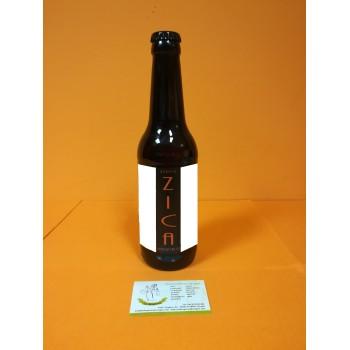 Cerveza Umbría Negra ZICA Artesana de Ejulve