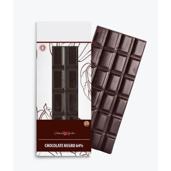 chocolate negro 64%