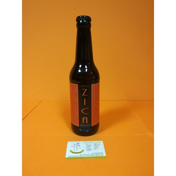 Cerveza Recuenco ZICA Artesana de Ejulve
