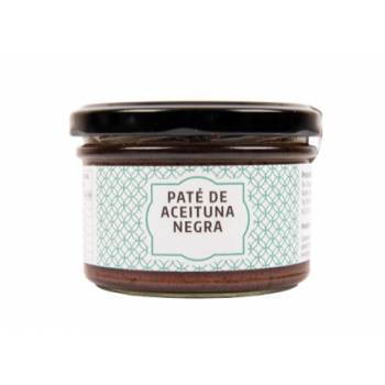 Paté Aceitunas Negras 160g