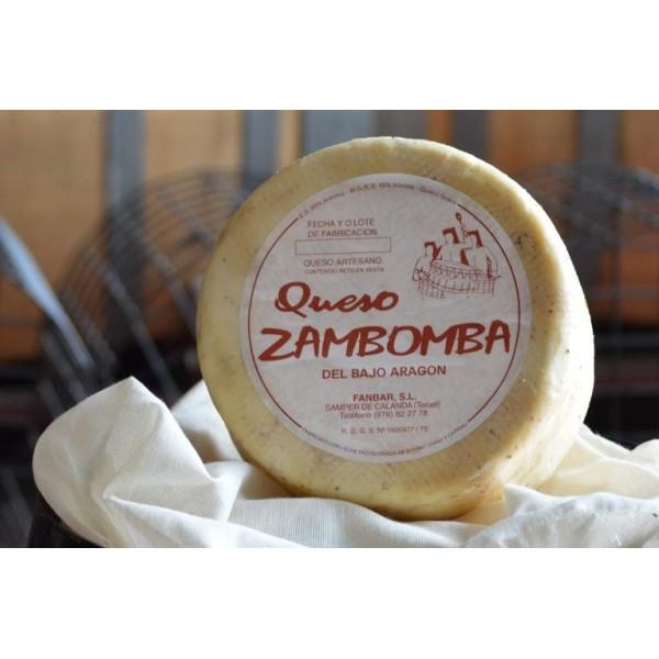 Cuña de queso Curado de Oveja Los Tambores