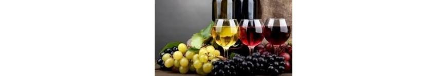 Variedad de Vinos, cavas y espumosos  y sangrías y licores de Aragón